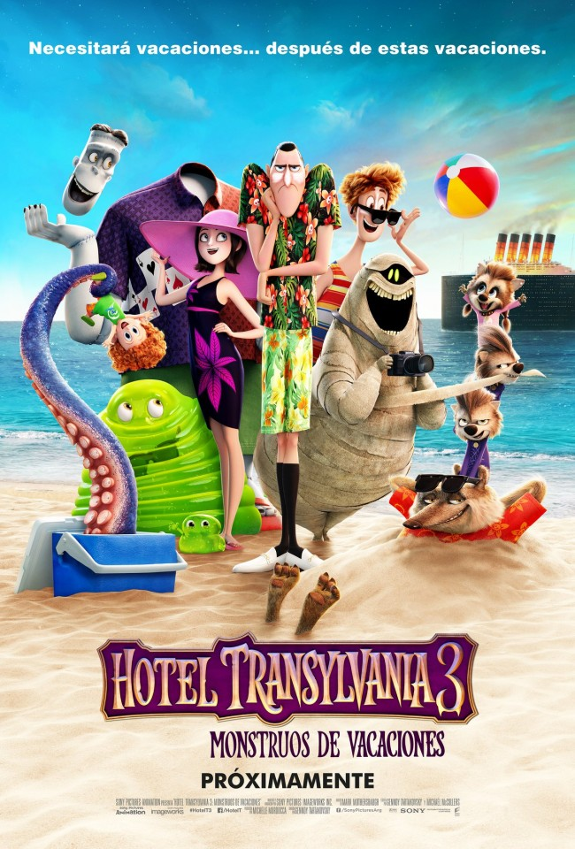Hotel Transylvania 3: Monstruos De Vacaciones (estreno)