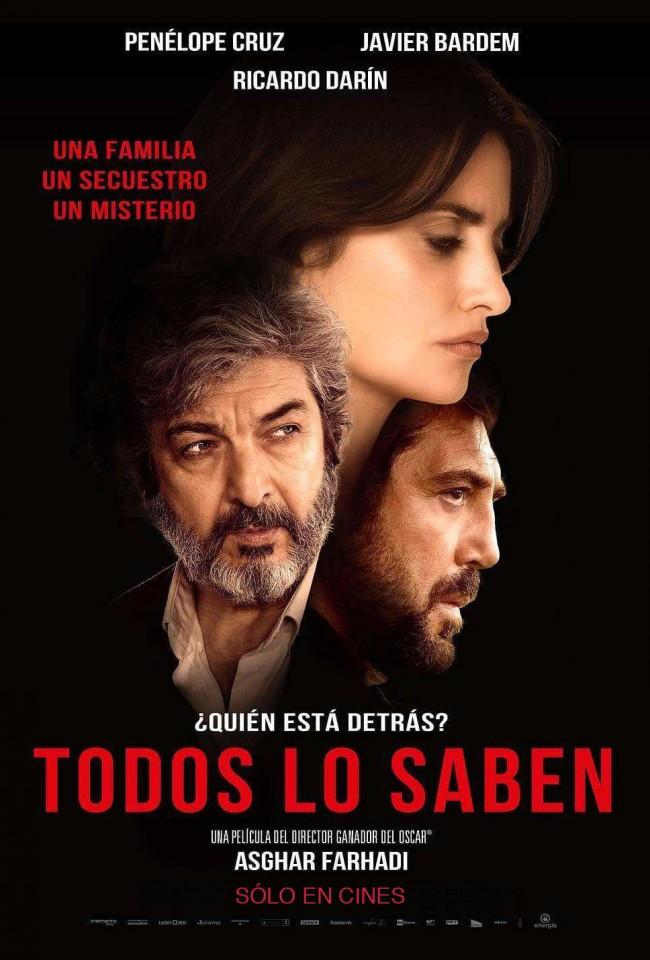 Todos Lo Saben (estreno)
