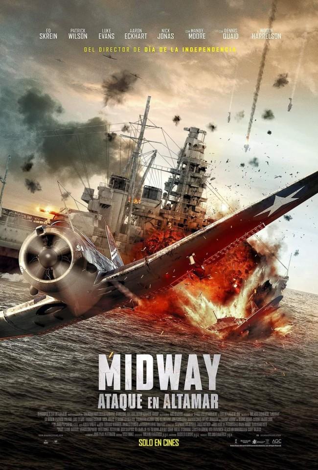 Midway: Ataque En Altamar (estreno)