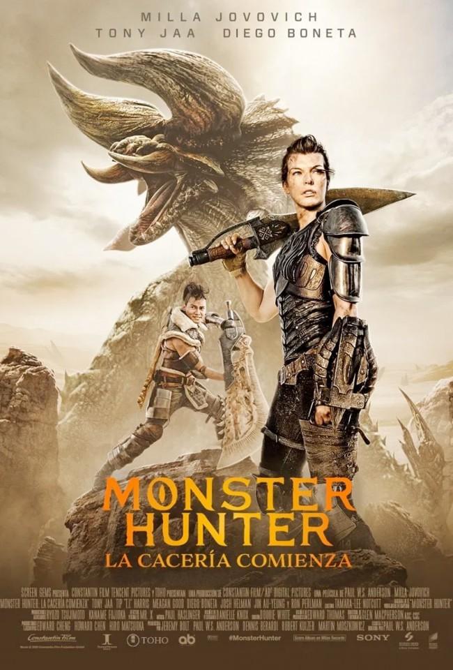 Monster Hunter: La Cacería Comienza (estreno)